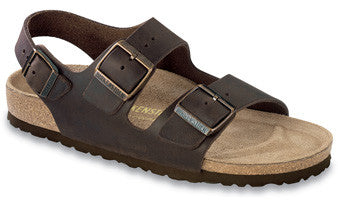 Birkenstock Milano Habana Oiled Leather Men's Sandals