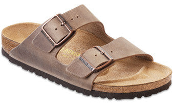 Birkenstock Arizona Tobacco Oiled Leather Unisex Sandals