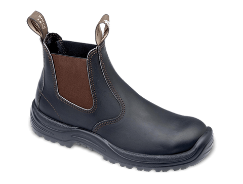 Blundstone 490 - Stout Brown Premium Oil Tanned Leather Boot (Work Series)