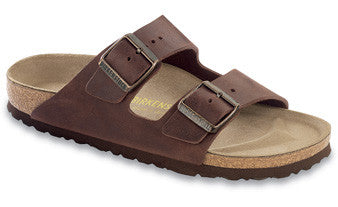 Birkenstock Arizona Habana Oiled Leather Men's Sandals