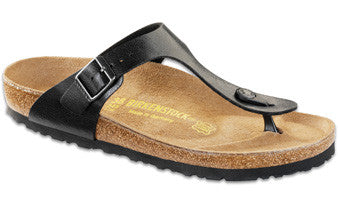 Birkenstock Gizeh Graceful Licorice Birko-Flor Women's Sandal