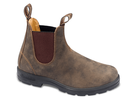 Blundstone 585 - Rustic Brown Premium Leather Boot (550 Series)