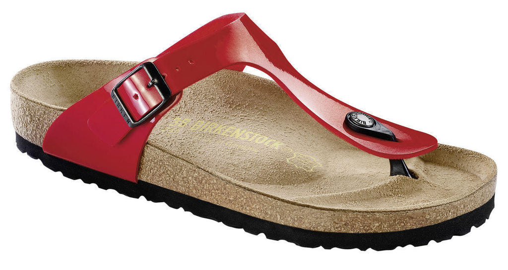 Birkenstock Gizeh Tango Red Patent Sandal