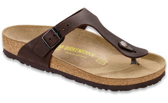 Birkenstock Gizeh Habana Oiled Leather Women's Sandal