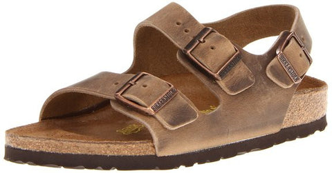 Birkenstock Milano Tobacco Oiled Leather Men's Sandals