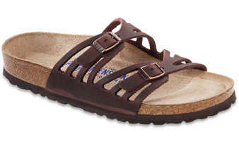 Birkenstock Granada Soft Footbed Habana Oiled Leather Sandal