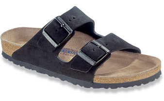 Birkenstock Arizona Soft Footbed Black Suede Sandal