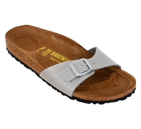 Birkenstock Madrid Magic Galaxy Silver Birko-Flor Sandal