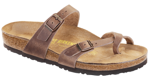 Birkenstock Mayari Tobacco Oiled Leather Sandal