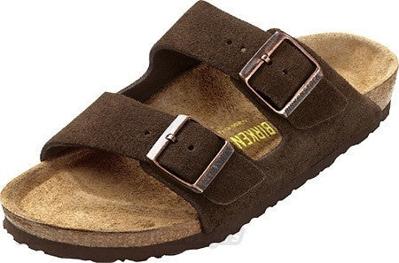 6853b1cbfeac Birkenstock Arizona Mocha Suede Sandal – Sole Solution
