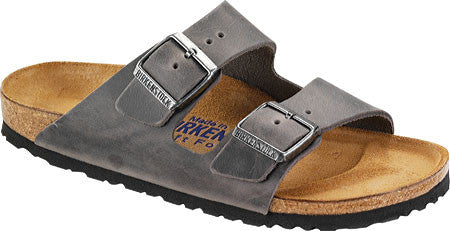 Birkenstock Arizona Iron Leather Sandal