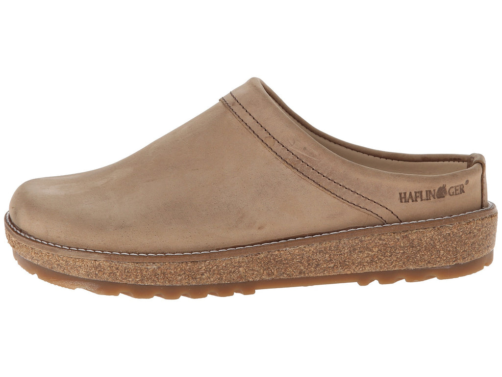 Haflinger View Sahara Leather Clog
