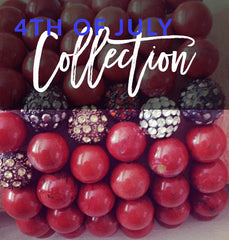 crystal healing jewelry 4th of july collection