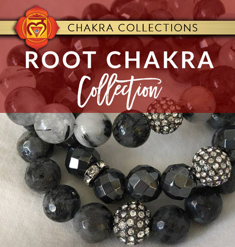 CRYSTAL HEALING ROOT CHAKRA JEWELRY COLLECTION