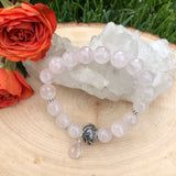 Rose Quartz Crystal Bracelet