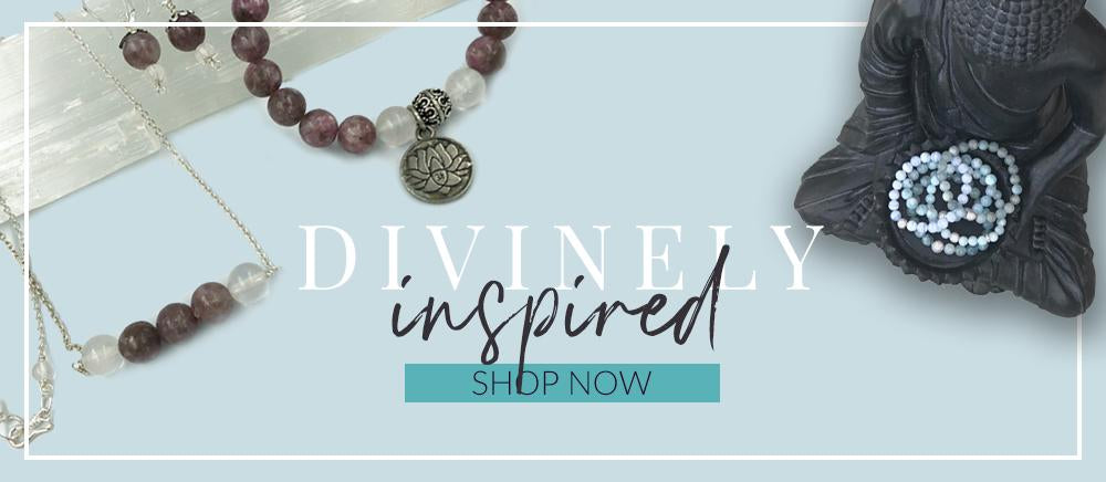 crystal healing jewelry chakra collections
