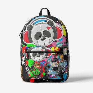 Retro Panda Beats Backpack