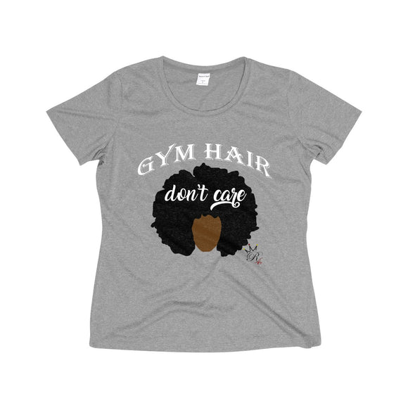 Gym Hair Don't Care Dri-Fit Tee