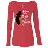 Loc'd & Loaded Ladies' Triblend Scoop Tee