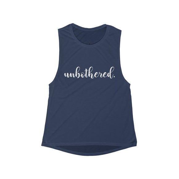 Unbothered Women's Flowy Scoop Muscle Tank