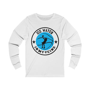 Ice Water In My Veins (Blue) Unisex Long Sleeve Tee