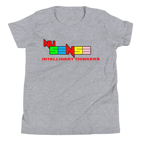 NuSense Intelligent Thinkers Youth Short Sleeve Tee