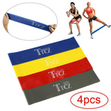 4pc Resistance Bands set