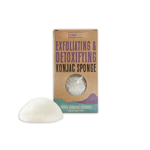 Facetox Original Konjac Sponge | Mask Remover x2 (Normal Skin Type)