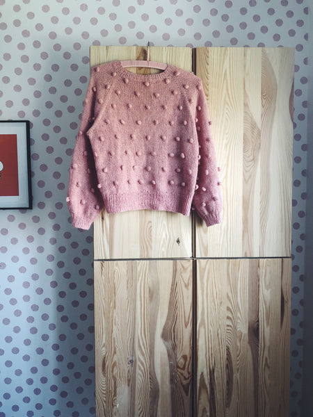 Pull point boule (popcorn sweater)
