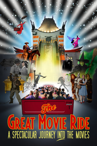 Great Movie Ride Poster