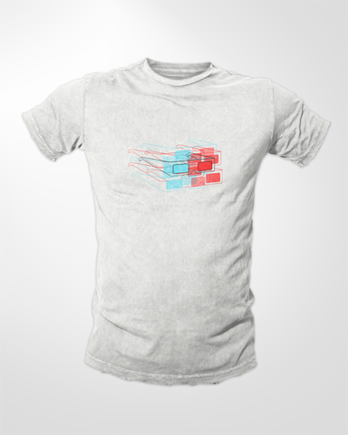3D Glasses - T-Shirt