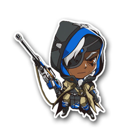 Overwatch - Ana Cute Spray Sticker