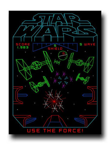 Starwars Arcade Sticker