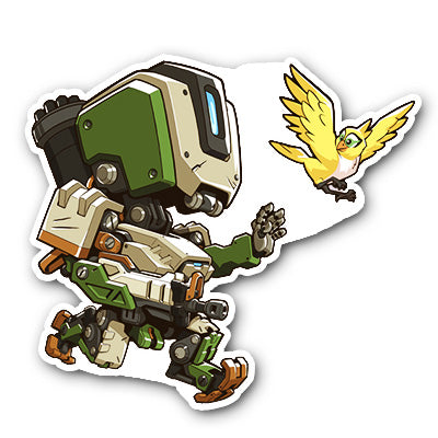 Overwatch Bastion Sticker