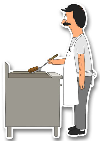 Bob the Cook Sticker