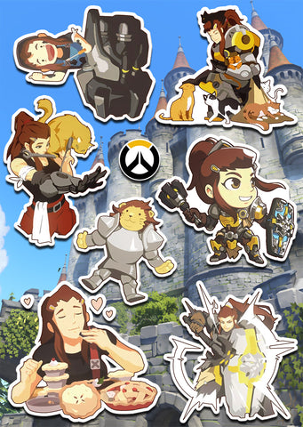 Overwatch Brigitte Sticker Pack