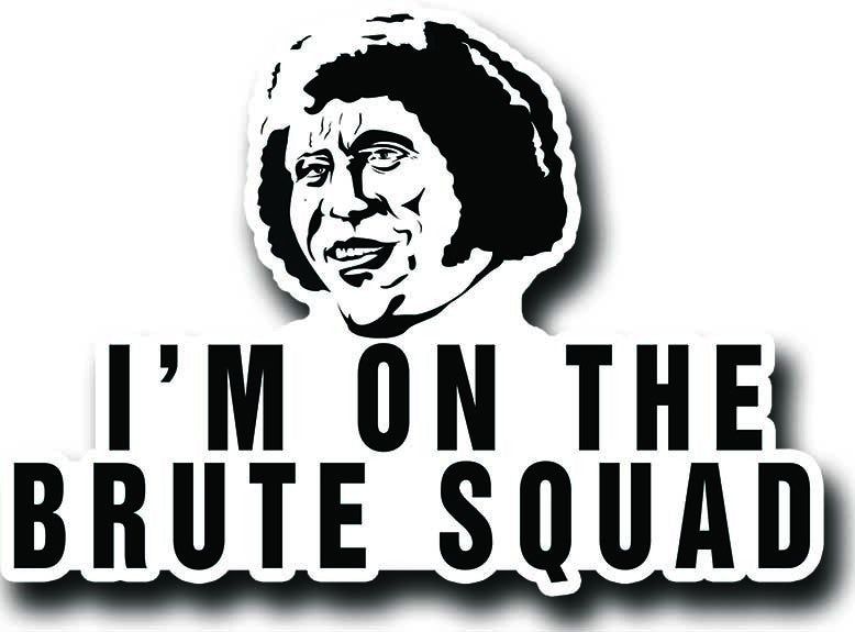 Princess bride brute squad sticker