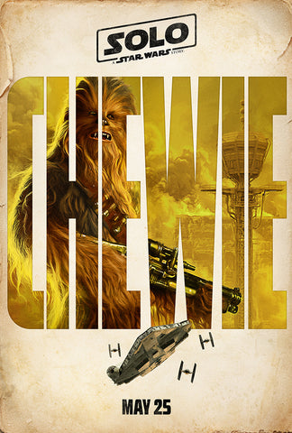Chewie Movie Poster, Solo