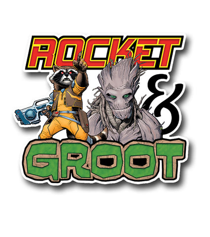 Rocket and Groot, Comic Sticker