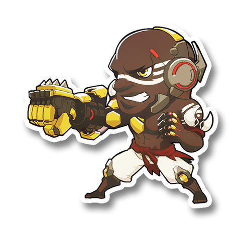 Overwatch DoomFist Sticker