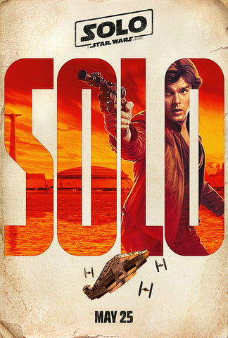 Han Movie Poster, Solo