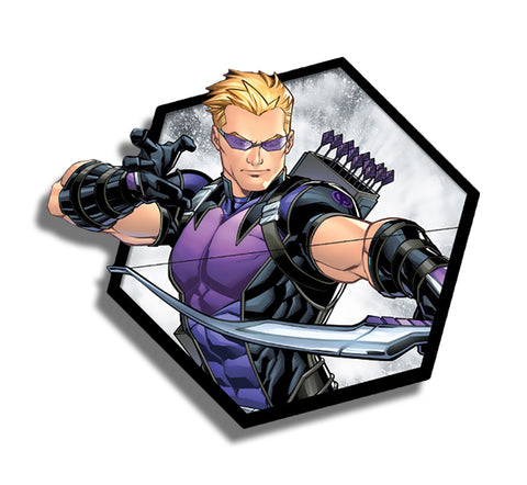 Hawkeye Hexagon Sticker