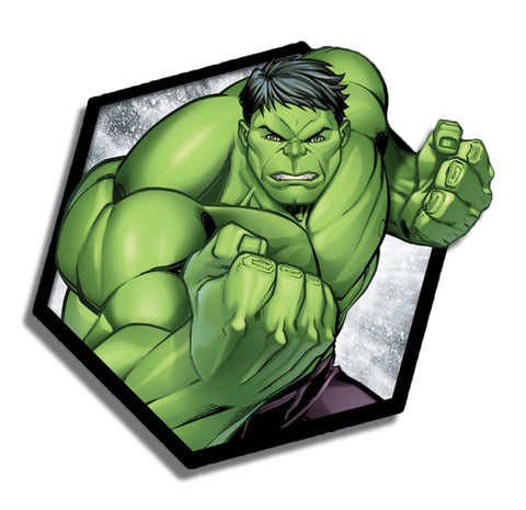 Hulk Hexagon Sticker
