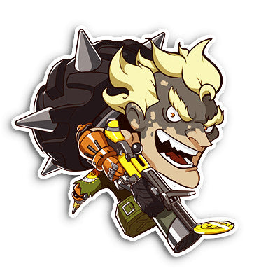 Overwatch Junkrat Sticker