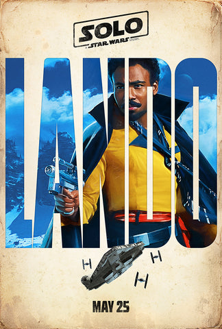 Lando Movie Poster, Solo