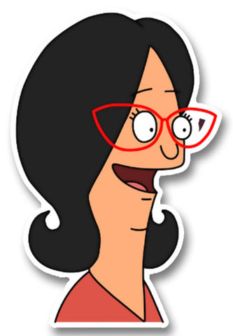 Bob's Burgers Linda Happy Sticker