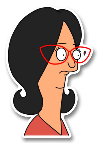 Bob's Burgers Linda Confused Sticker