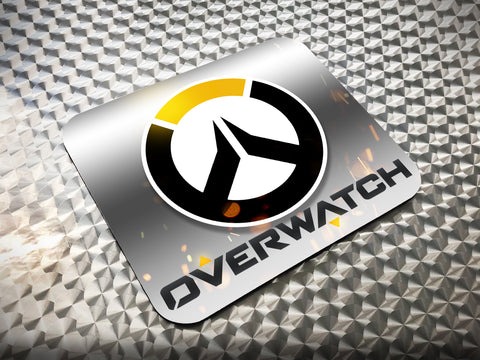 Overwatch Logo Mouse Pad