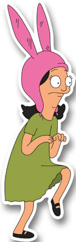 Bob's Burgers Louise Sneak Sticker