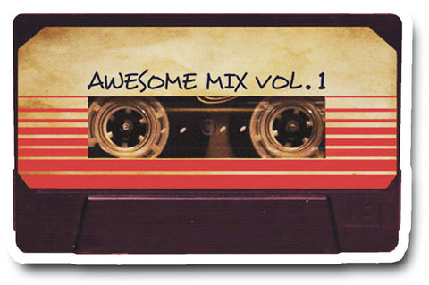 Guardians of the Galaxy Tape Sticker